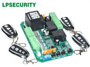 Image 1 - Scheda elettronica di bordo circuito di controllo del motore del cancello per cancello scorrevole apri funzione di soft start modalità pedonale 110V o 220V
