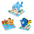 Finding Nemo 2 Diamond Building Blocks Fun Toys Clown Fish Nemo Dory Bruce Shark Model Mini Bricks Cartoon Gifts For Children
