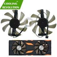 2 pçs/set CF9015H12S GeForce Gráficos ventilador para Inno3D 2080TI RTX 2070 RTX 2080 RTX