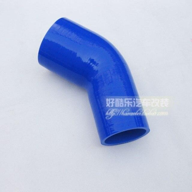 45degree 70-76mm silica gel tube plumbing trap car refires tube silica gel elbow