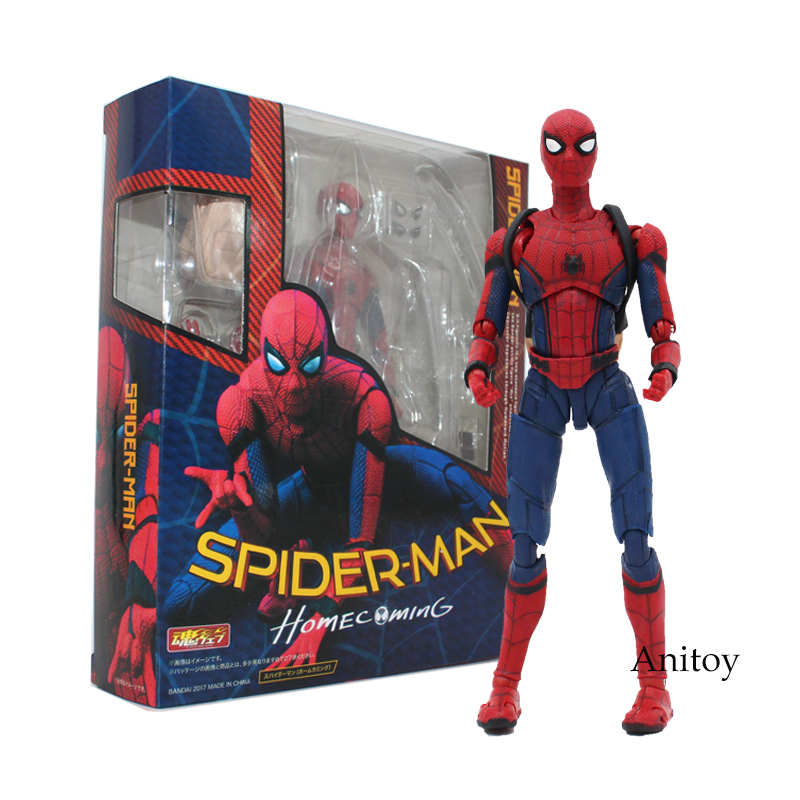 Spider Man Ritorno A Casa Il Spiderman Simple Style & Herioc Action PVC Figure Da Collezione Toy Modello 14 cm