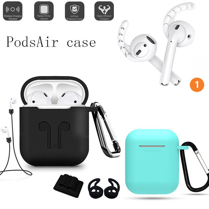 2019 new 1:1 airpods Silicone earpods air pods ear buds for i16 i15 i14 i13 i12 i11 i10 <font><b>tws</b></font> i 16 <font><b>15</b></font> 14 13 12 11 10 image