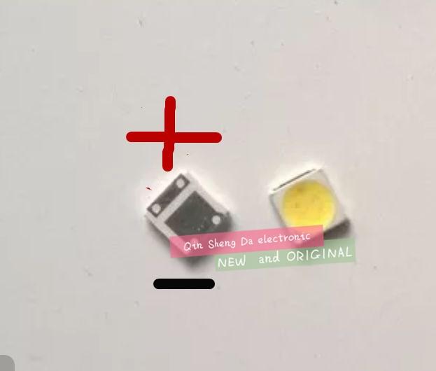 1000pcs LED Backlight High Power LED 1.8W 3030 6V Cool white 150 187LM PT30W45 V1 TV Application 3030 smd led diode  3030 6v