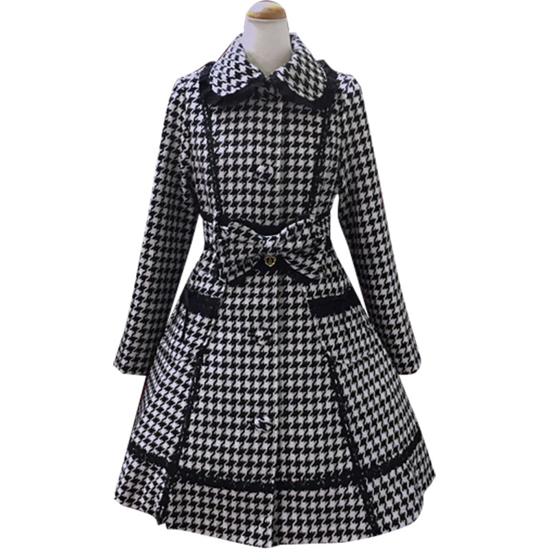 Online Get Cheap Houndstooth Wool Coat -Aliexpress.com | Alibaba Group