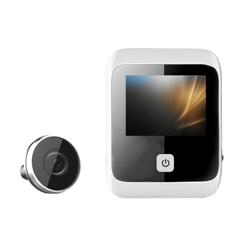 3.0 inch Door Camera Peephole Viewer HD Eye Degree Wide Angle Digital LCD Doorbell Digital HD Eye Video Recorder 2MP Camera