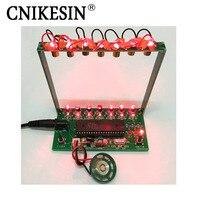 CNIKESIN DIY Kits 51 SCM Laser Harp Electronic Organ Piano The Music Box Electronic DIY Technology
