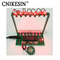 CNIKESIN DIY Kits 51 SCM Laser Harp Electronic Organ Piano The Music Box Electronic DIY Technology