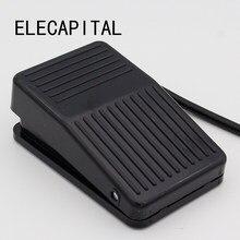 Imc quente spdt antiderrapante metal momentânea elétrica power pedal interruptor