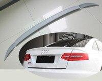 2005 2011 PU Car Trunk Lip Spoiler Boot Wing For Audi A6L C6 3PCS SET