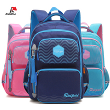 New Reflective Strip Student School Bags For Teenage Girls Boys Book Bag Kids Schoolbag Primary Children Backpack Grade 1 - 6 цены онлайн