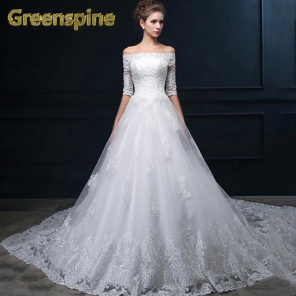Wedding Dressing Gowns Personalised: Aliexpress.com : Buy Greenspine Vintage Lace Ball Gown
