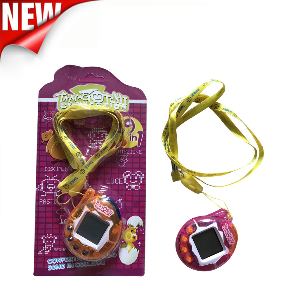 Hot ! 90S Nostalgic 49 Pets In One Virtual Cyber Pet Toy Funny Tamagotchi Gift Keyring