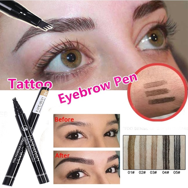 Lower Price with 1 Pcs Charming Eye Winged Eyeliner Seal Wing Waterproof Mascara Cream Dye Eyebrow Pen Makeup Tool Long Lasting Color Natural Eyebrow Enhancers Beauty Essentials