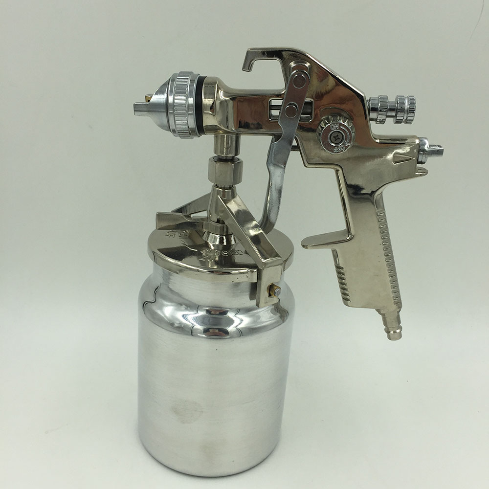 SAT1191-S Free Shipping air spraying spray paint gun hvlp spray gun manual paint professional air spray paint gun hd 2 hvlp devilbiss spray gun gravity feed for all auto paint topcoat and touch up with 600cc plastic paint cup
