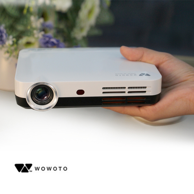 WOWOTO H8 Mini DLP Projector HDMI Home Theater beamer multimedia