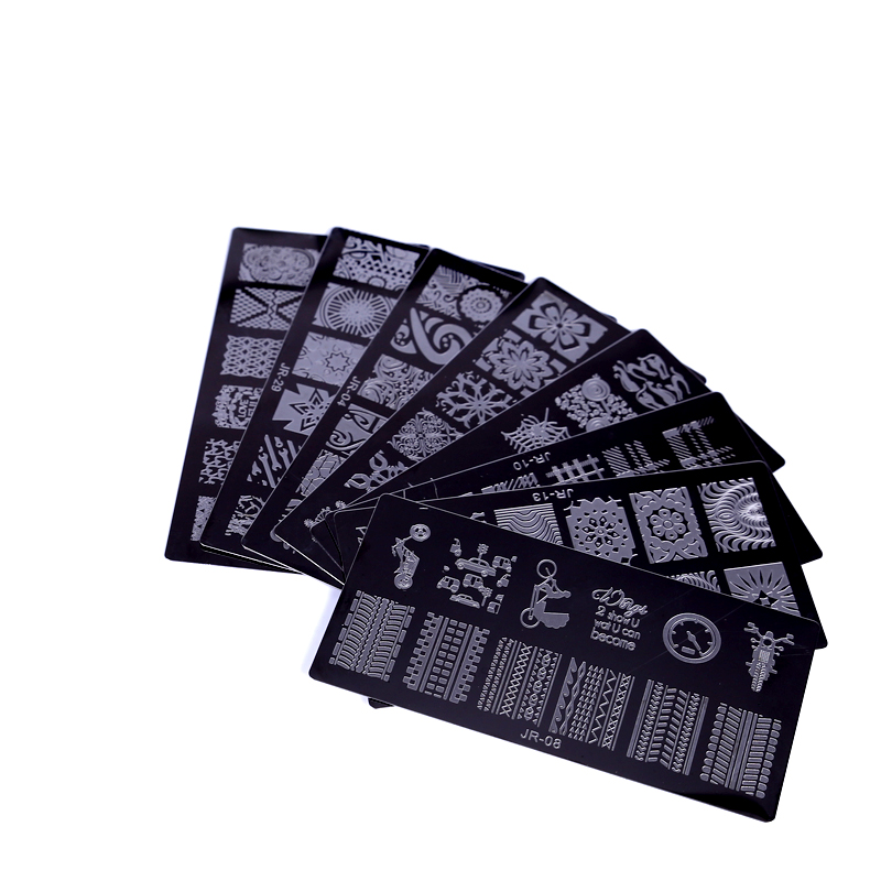 New-1Pc-High-Quality-JR-Nail-Stamping-Plates-Stainless-Steel-Image-Stamping-Nail-Art-Manicure-Template (4)