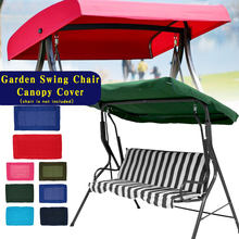 2/3 Seaters Colorful Replacement Outdoor Indoor Courtyard Garden Hammock Tent Swing Cover For Garden Swing Chair Canopy Cover(China)