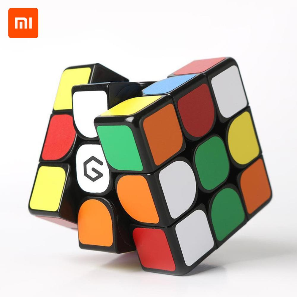 Novo Xiaomi Giiker Cubo Magnético Aprender Com Diversão Aplicativo Habilidade de Ensino Brinquedo Desenvolvimento Intelectual