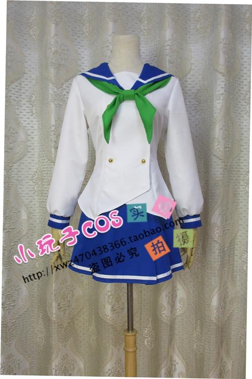 Bakuon!! Raimu Kawasaki Cosplay Costume Custom Any Size
