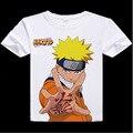 Digital impresso hot anime Naruto Naruto camiseta roupas Uzumaki Naruto Uchiha Sasuke curto-manga T-shirt dos homens tshirt