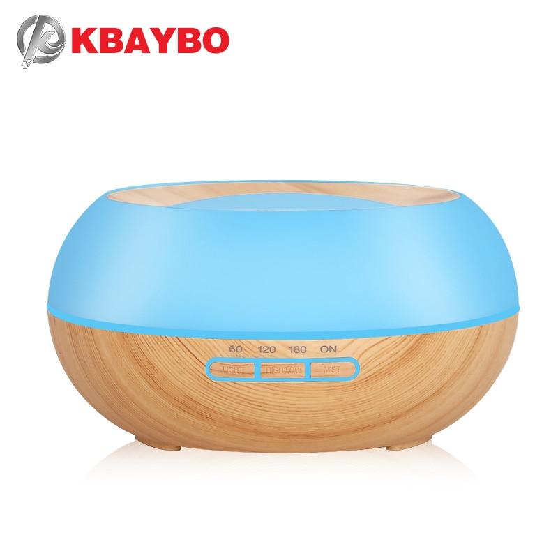 все цены на 300ml Aroma Essential Oil Diffuser Ultrasonic Cool Mist Humidifier LED Night Light for Office Home Bedroom Living Room Yoga SPA онлайн