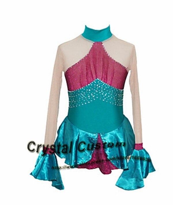 6ac3d83c9 ⑥Niños patinaje artístico vestido moda nueva marca Vogue figura ...