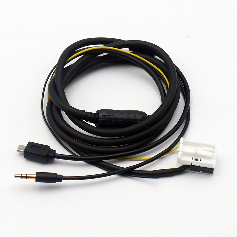 Car aux adapter audio cable for benz mercedes for Aux cable mercedes benz c230