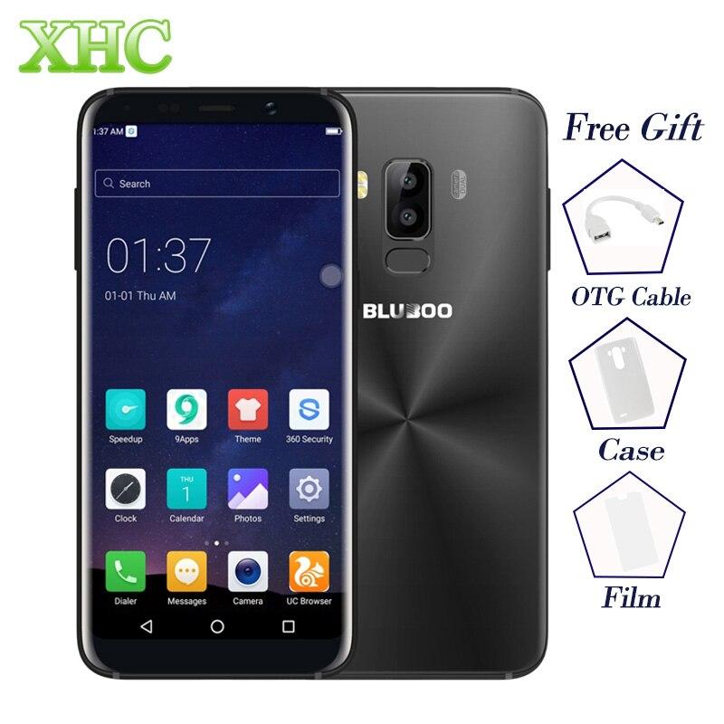 LTE 4G BLUBOO S8 5.7 ''Telefoni Cellulari MT6750T Octa Core 3 GB + 32 GB Dual 13MP Posteriore camera 3450 mAh Impronte Digitali Dual SIM Smartphone