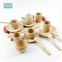 MamimamiHome Pretend Play Tea set Wooden Educational Activity Grasping Developing Montessori Toddler Game Kitchen Toys