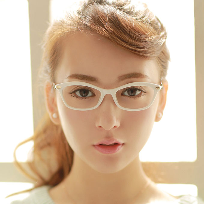 aliexpresscom buy myopia glasses female white vintage glasses female tr90 eyeglasses frame optical mirror ultra light eye frame from reliable frames men