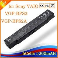 BATERÍA Del Ordenador Portátil Para VAIO VGN PCG YHR VGC-LA Negro PARA SONY VGP-BPS2 BPS2C BPL2 BPS2A BPS2B BPL2.CE7 VGP-BPS2.CE7 HK04