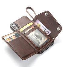 Flip Wallet Leather Phone Case for iphone XS Max 8 7 6 6 Plus Full Protction for iphone X XR XS Retro Fashion Phone Bag