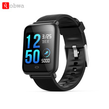 Kobwa Q9 Smart Watch Heart Rate Blood Pressure Monitor Sports Fitness Tracker Color Screen Waterproof Watches For Android IOS