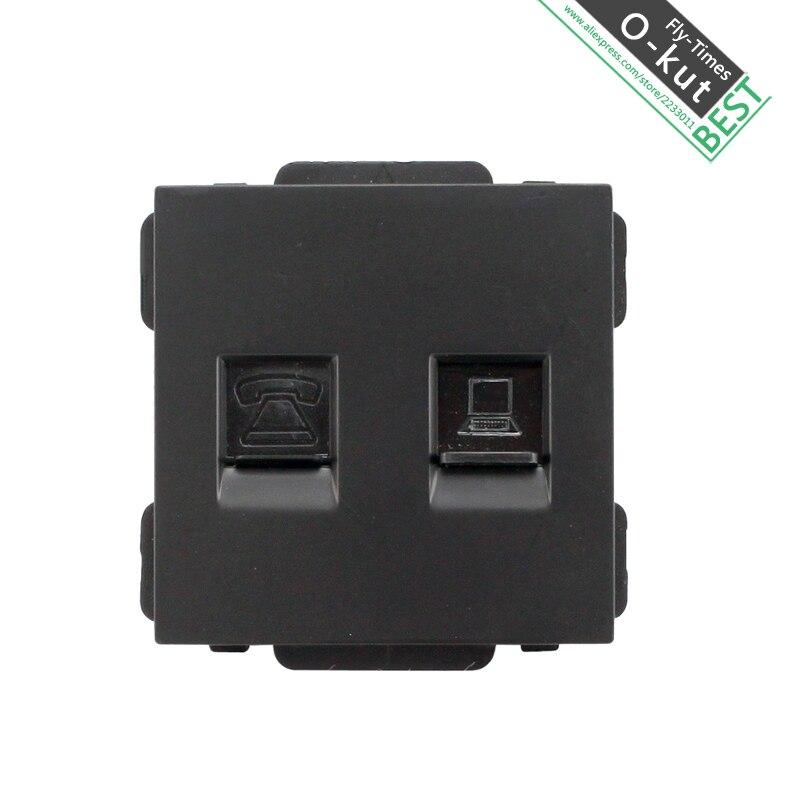 A8-819 T1/C1 компьютер имеет телефонной сети настенный выключатель панели разъем ...