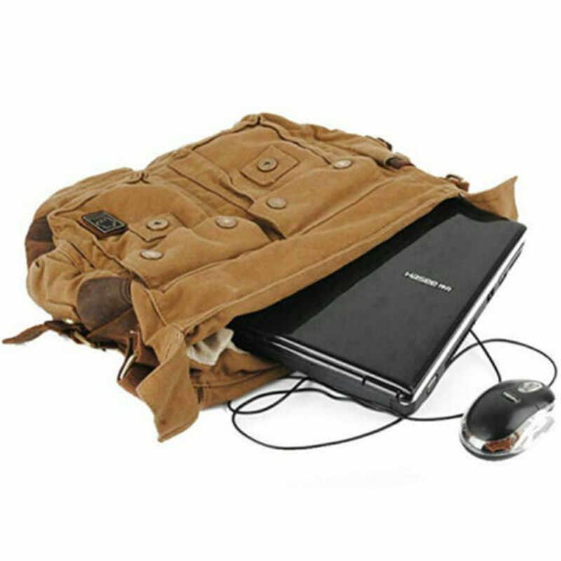 Bandolera clásica militar, bolso de lona para hombre, bolso Casual de marca, verde militar bolso de viaje, bolso de viaje para hombre