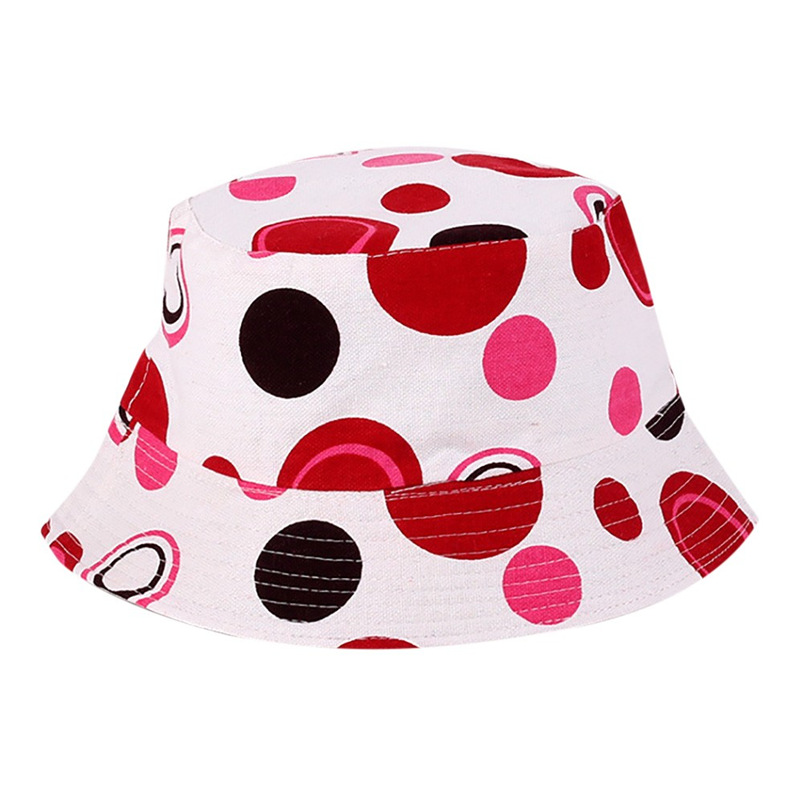 Men Women Bucket Hat Flower Print Cap 2018 Summer Colorful Flat Hat Fishing Boonie Bush Cap Outdoor Sunhat Wholesale #FM11 (5)