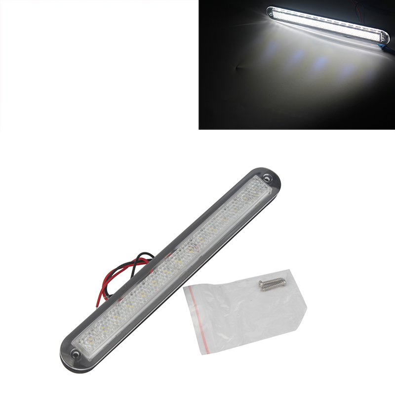 White Plastic Strip Light Marine Boat LED Light for 12V RV