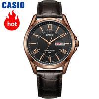 Casio Watch Men S Business Casual Waterproof Watch MTP 1383D 7A MTP 1384D 1A MTP 1384D