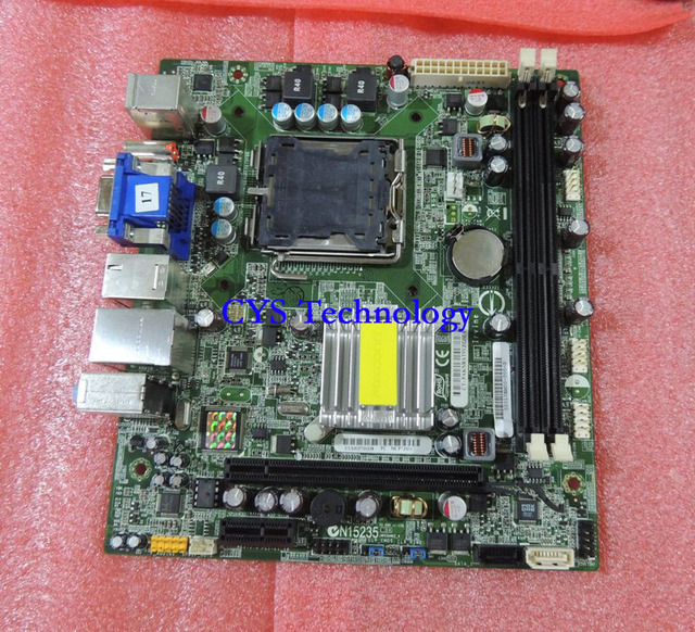 Free shipping CHUANGYISU for MCP73S01 Desktop Motherboard GF7100 5189-0652 492934-001,Mini-ITX,s775,DDR2,work perfect
