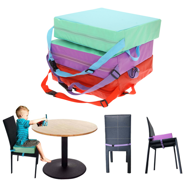 Booster High Chairs Revolving Chair Justdial Children Increased Pad Baby Dining Cushion Adjustable Removable Highchair Seat For