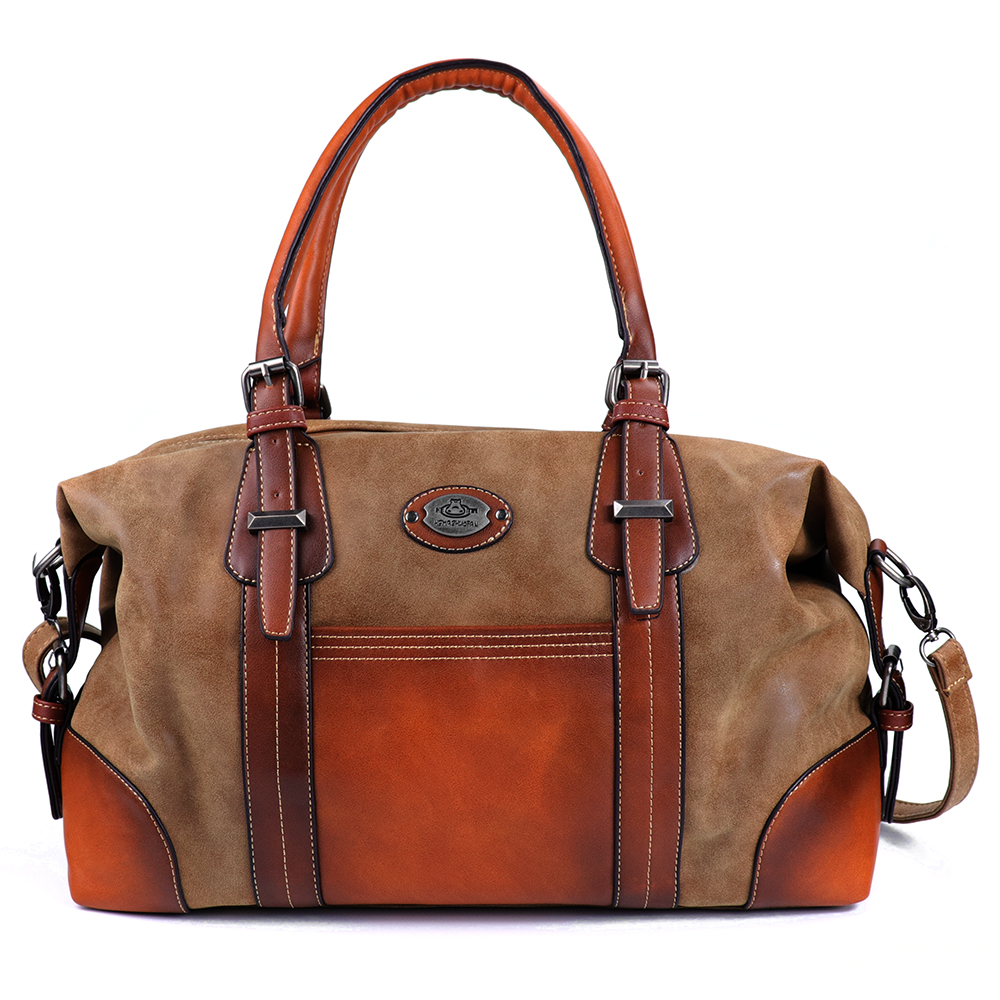 Genuine Leather Women Travel Bag 53