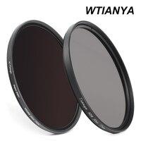WTINAYA ND 8 ND 1000 ND Filtre 72mm için Dijital Kamera Lens (ND8 0.9 + ND1000 3.0 Nötr Yoğunluk + Lens Kapağı)