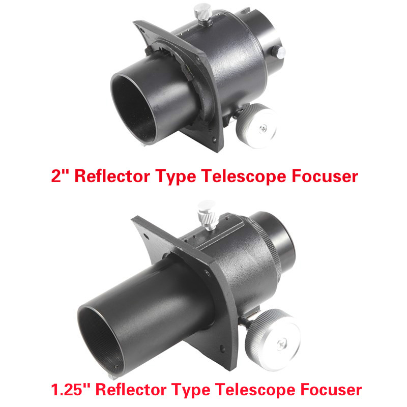 Newtonian Reflector Type 2 1 25 Inch Astronomy Telescope Focuser Full Metal Adapter for 1 25