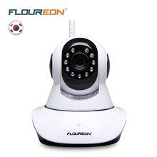 цена на Floureon 720P Wireless IP camera 1.0MP WLAN H.264 Security CCTV Pan/Tile Night vision WiFi camera Baby Monitor 2 way audio cam
