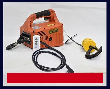 200KG 500KG 7 6M 19M,Portable Electric Winch With Wireless Remote Control,  Lifting Hoist, Towing Rope,Tire Repair Tool