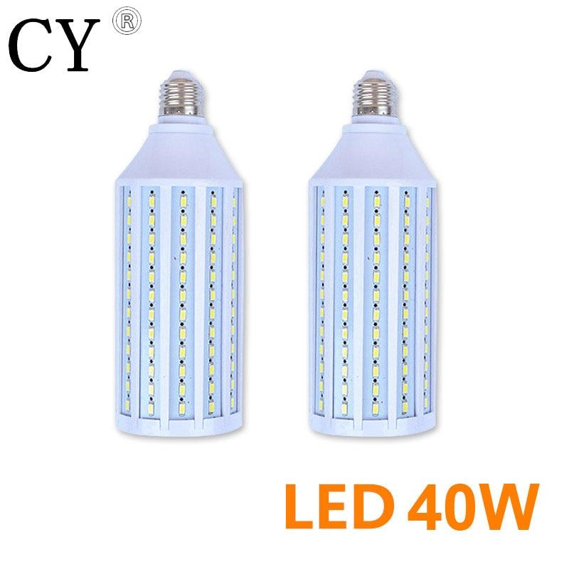 Inno 2Pcs 40W LED Corn Bulb E27 220v LED Video Light Corn Lamp 5730 SMD Photo Studio Bulb Photographic Lighting