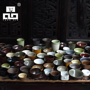 TANGPIN Ceramic-Teacups Drinkware Porcelain Tea-Cup Chinese of Random-Delivery