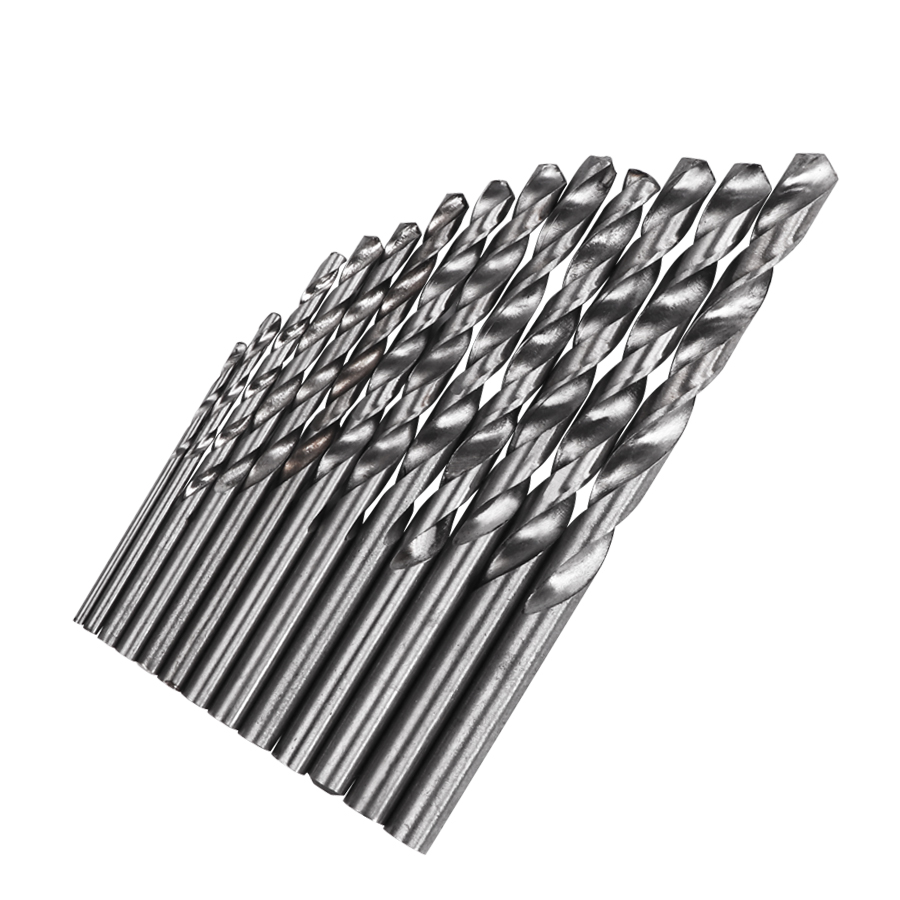 Metalworking Twist Drill Bits Set Tools Metric System Titanium Quick Change Drilling Metal Drilling For With Case 13 PCS