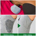50pcs/set Summer Deodorants Underarm Sweat Pads Dress Clothing Perspiration Pads Shield Absorbing Pads For Armpits