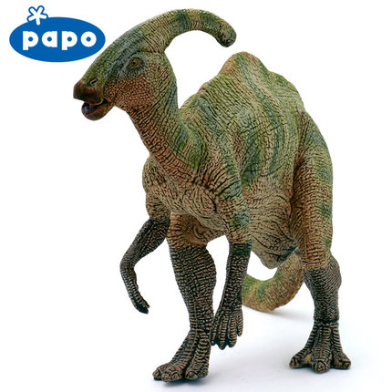 Papo Parasaurolophus Simulated Dinosaur Model Museum Collection Jurassic World Ancient Creatures Children's Toys devil dinosaur by jack kirby the complete collection